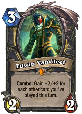 Icy Veins Deck Basic by Edwin Vancleef Rogue Card Hearthstone