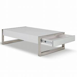 living room rectangle white coffee table with pull out With rectangle coffee table with drawers