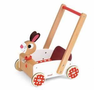 Chariot Bois Bébé : jouets janod chariot de marche en bois pour b b blog une cuill re pour doudou ~ Teatrodelosmanantiales.com Idées de Décoration