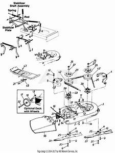 Mtd Wizard Mdl 130 Mtd7122b09 Parts Diagram For 38