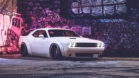 Dodge Challenger Hd 5k Wallpaper