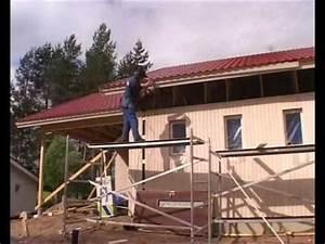 Maison écologique En Kit : montage maison bois en kit cologique conomique youtube ~ Dode.kayakingforconservation.com Idées de Décoration