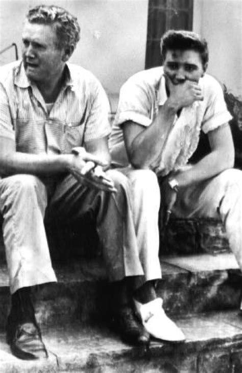 52 Photographs – Elvis Presley With His Father Vernon
