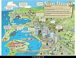 San Diego Map Tourist Attractions - TravelQuaz.Com