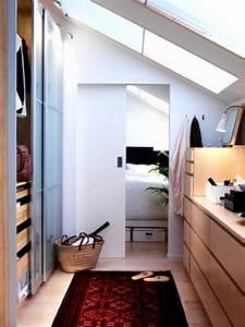 Ikea Pax Dachschräge : ikea pax walk in closet living begehbarer kleiderschrank dachschr ge kleiderschrank f r ~ A.2002-acura-tl-radio.info Haus und Dekorationen