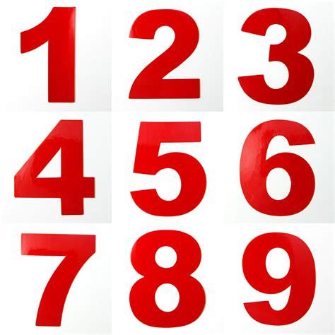 Reflective House Door Address Mailbox Number Digits