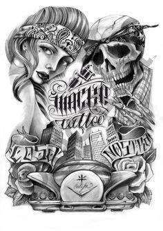 Photos from Antonio Macko Tattoo Shop (mackotattoo) on Myspace | Chicano drawings, Chicano art
