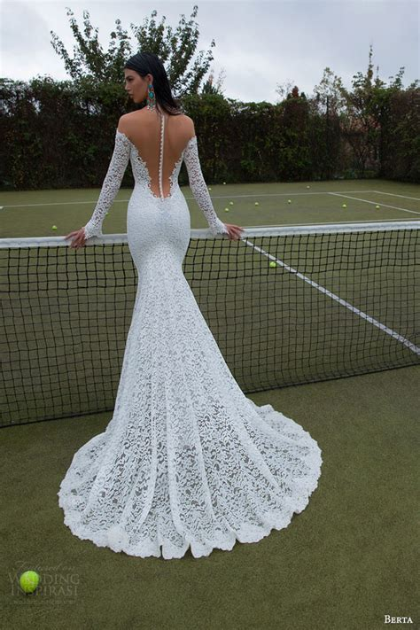 Berta 2015 Bridal Collection — Long Sleeve Wedding Dresses