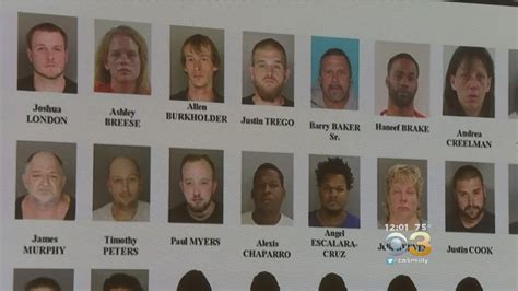 more than 2 dozen arrested in chester county bust