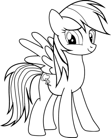 Kleurplaat My Pony Princess by My Pony Coloring Pages Coloringpin Printabell