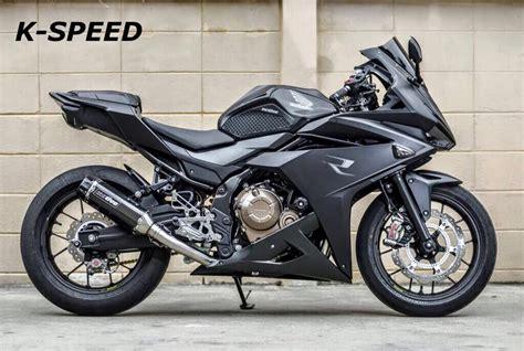 Custom Honda CBR500R Exhaust