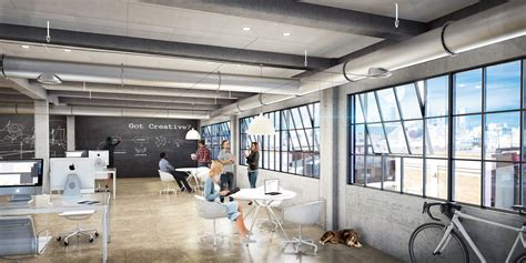 creative office space layout cgarchitect professional 3d architectural visualization Creative Office Space Layout