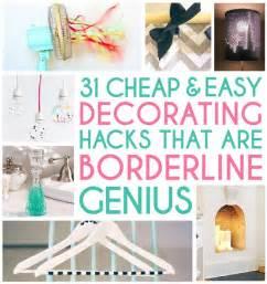 home design hacks home decor hacks on
