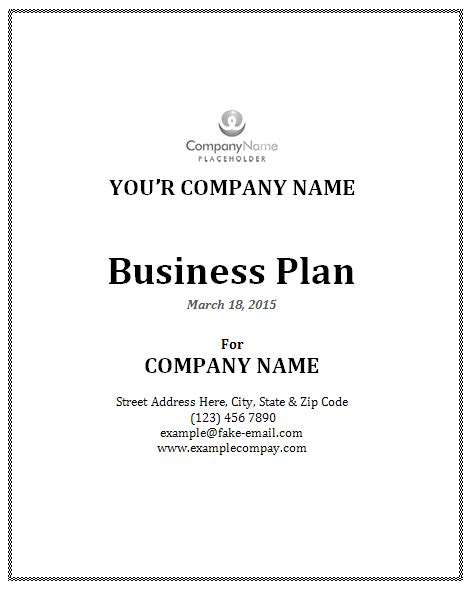 free business plan template word business plan template office templates