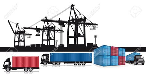container 1 1 l port clipart 47