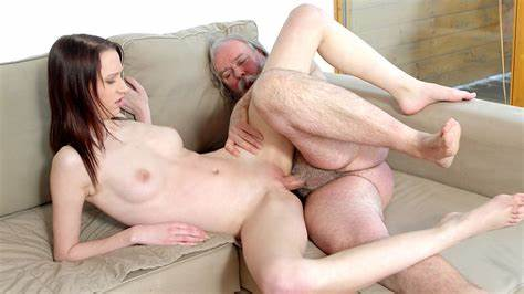 Solid Natural Tit Uncle Relishes Student Dick