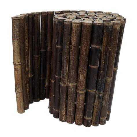Black Bamboo Edging Roll 200 X 45 Cm