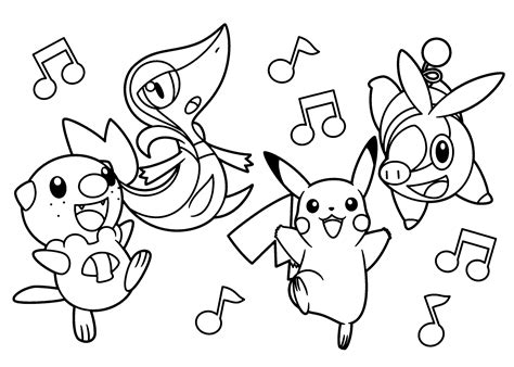 Pokemon Coloring Pages Printable Free