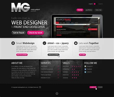 web design portfolio inspired by creativity web interfaces nenuno creative