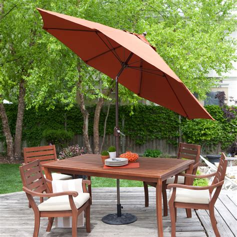 9ft Push Button Tilt Patio Umbrella With Rust Red Orange. Garden Patio Waterford. Woodard Patio Furniture Replacement Parts. Build Round Patio Pavers. Inexpensive Patio Furniture Diy. Patio Bench Seating Ideas. Patio Design Front Yard. Cheap Patio Dining Set With Umbrella. Hanamint Patio Table And Chairs