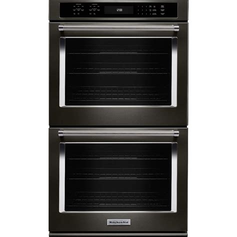 built  double electric convection wall oven