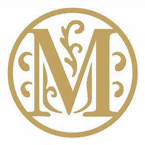 Letter M Wax Seal Die Shiny Wax Seals Stock Designs