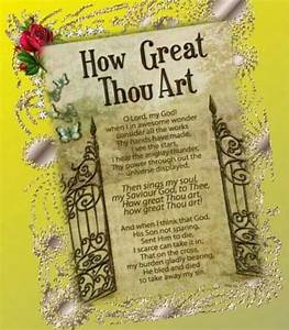 94 best How Great Thou Art... images on Pinterest ...