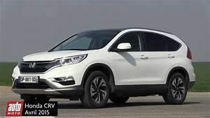 Nouveau Honda Cr V : nouveau honda cr v 2015 essai complet automoto youtube ~ Melissatoandfro.com Idées de Décoration