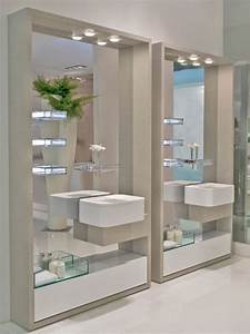 bathroom luxury wall mounted bathroom glass shelves With benefits of adding glass bathroom shelves