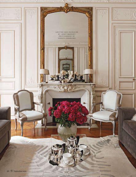 Beautiful Parisian Apartments by So Beautiful Living Spaces Parisian