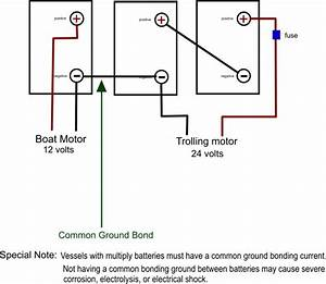 Wiring Diagrams For 12 Volt Or 24 Trolling Motor