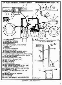 Hyster Forklift Truck Type A177  H2 00xl  H40xl   H2 50xl