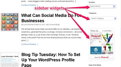 How To Add The Archive Widget To A Wordpress Blog Write