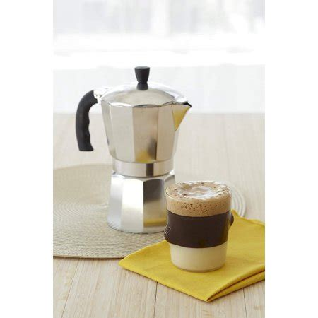 You cant beat the price. Imusa 6 cup Manual Stovetop Espresso Maker - Best IMUSA