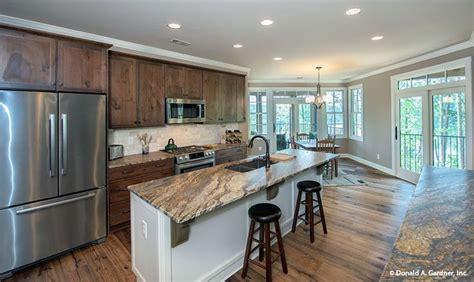 kitchen  butler ridge house plan   house plans luxury kitchen design kitchen dining