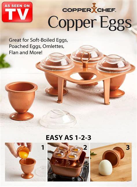 copper chef copper eggs xl copper chef   cook eggs copper cooking pan