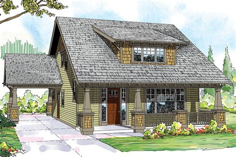 Arts & Crafts Bungalow House Plan