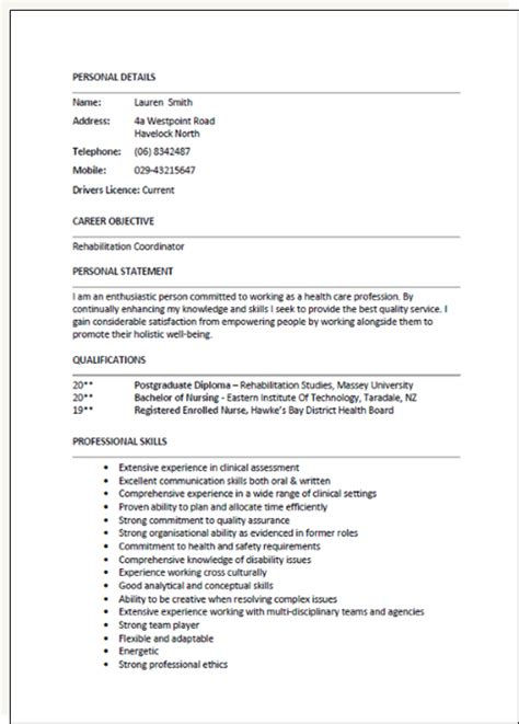 New Format Of Writing A Cv by Cv Template New Zealand 1 Cv Template Resume Template