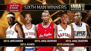 2017 NBA Awards: Sixth Man of the Year Finalists - YouTube