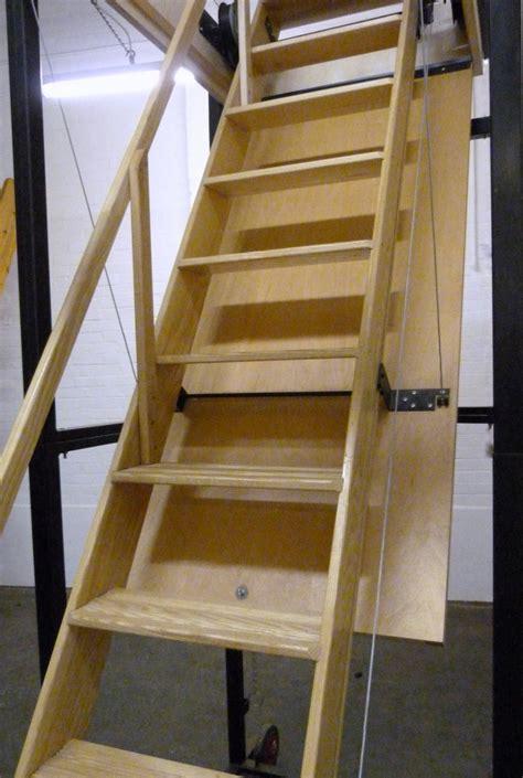 attic pull  stairs heavy duty attic ideas