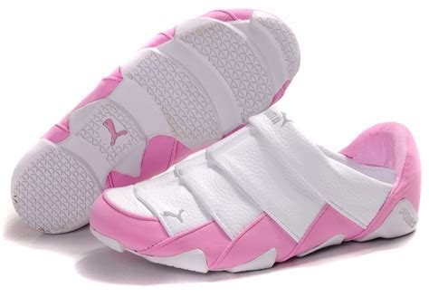Puma Lazy Insect Low Shoe White Pink| Bow Sandals