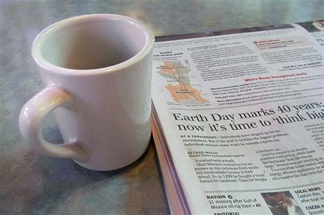As nouns the difference between coffee and newspaper. Goodbye to the Morning Coffee and Newspaper Ritual - I Need Coffee