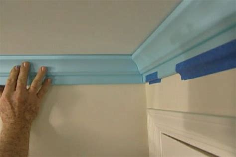 install polystyrene crown molding diy projects