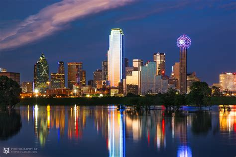 light the dallas cityscapes stephen masker photography