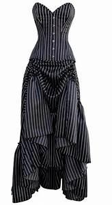 stripes pinstripe dress black white white dress With pinstripe wedding dress