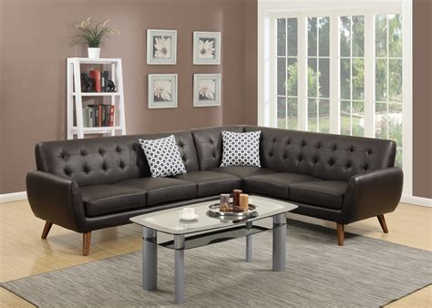 Loveseat Sectional Sofa by Sectional Sofa Loveseat Wedge Leather Sectionals