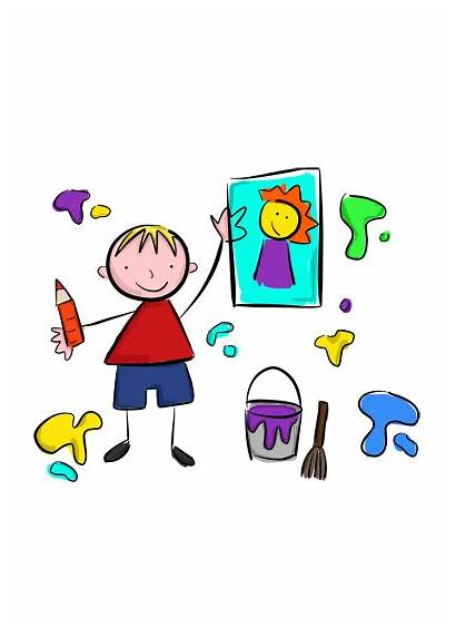 Crafts Arts Parties Party Children Drawing Illustration