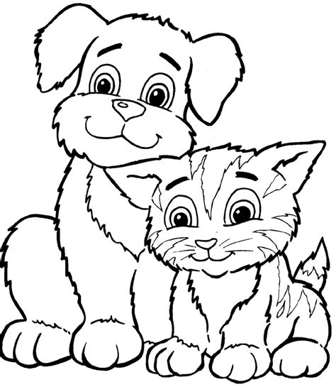 coloring pages kitty cat coloring pages color pages
