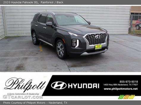 2020 hyundai palisade sel specs. Rainforest - 2020 Hyundai Palisade SEL - Black Interior ...