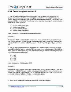Pmp Exam Sample Questions 7